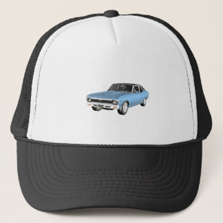 1968 Light Blue Muscle Cars Trucker Hat