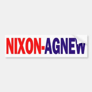 1968 Nixon Agnew Bumper Sticker