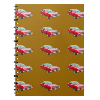 1968 Plymouth Roadrunner Muscle Car Notebook