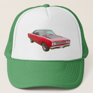 1968 Plymouth Roadrunner Muscle Car Trucker Hat