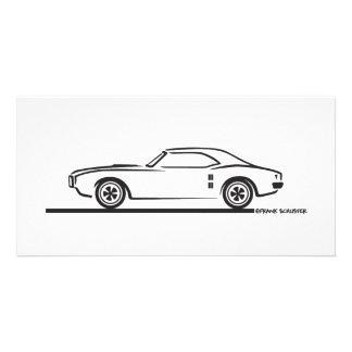 1968 Pontiac Firebird Customised Photo Card