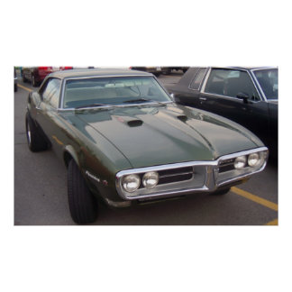 1968 Pontiac Firebird Hardtop Poster