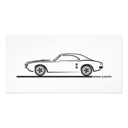 1968 Pontiac Firebird Photo Card
