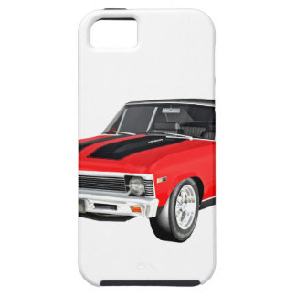 1968 Red Muscle Car iPhone 5 Covers
