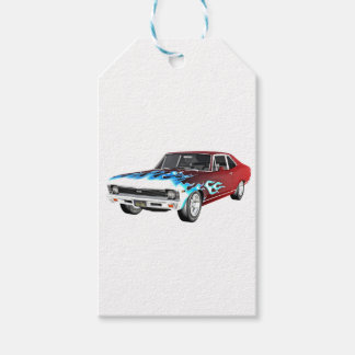 1968 Red White and Blue Muscle Car