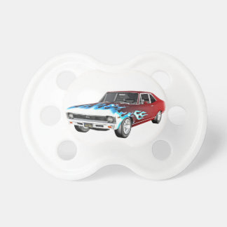 1968 Red White and Blue Muscle Car Dummy