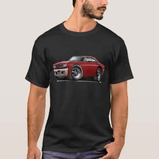 1968 Roadrunner Maroon Car T-Shirt