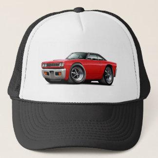1968 Roadrunner Red-Black Top Trucker Hat