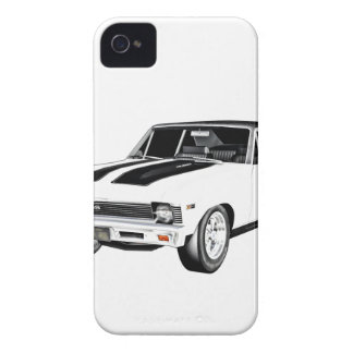 1968 White Muscle Car iPhone 4 Case