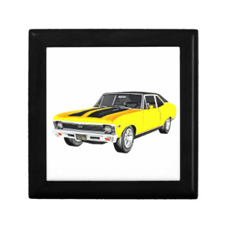 1968 Yellow Muscle Car Gift Box