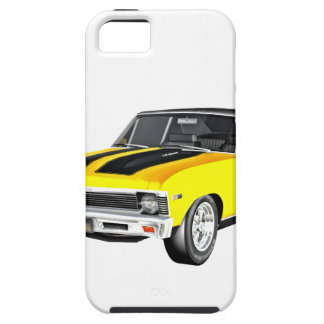 1968 Yellow Muscle Car iPhone 5 Case