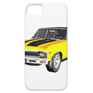 1968 Yellow Muscle Car iPhone 5 Cases