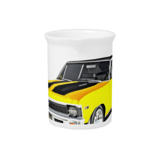 1968 Yellow Muscle Car Pitcher