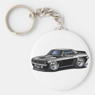1969 Camaro Black Car Key Ring
