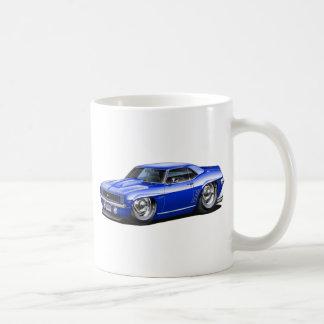 1969 Camaro Blue Car Coffee Mug