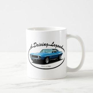 1969 Camaro blue Coffee Mug