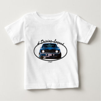 1969_camaro_blue_front baby T-Shirt