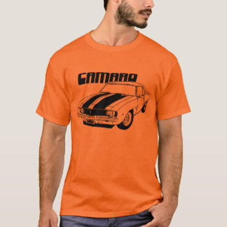 1969 Camaro Muscle Car Design T-Shirt