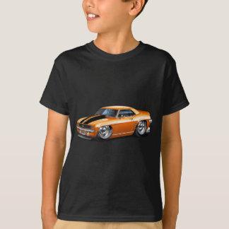 1969 Camaro Orange-Black Car T-Shirt