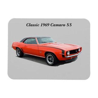 1969 Camaro SS Rectangular Photo Magnet
