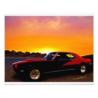 1969 Camaro Up At Rocky Ridge For Sunset Photo