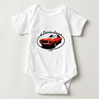 1969_camaro_yenko_orange baby bodysuit