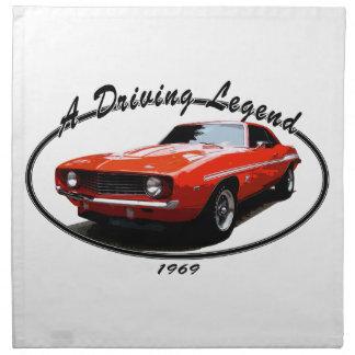 1969_camaro_yenko_orange napkins