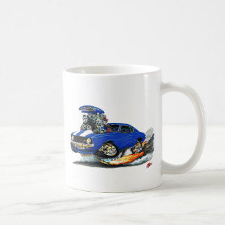 1969 Camaro Z28 Blue-White Car Coffee Mug