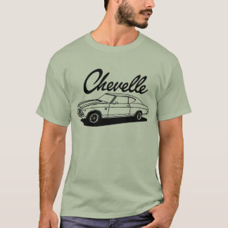 1969 Chevelle SS Design T-Shirt