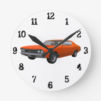 1969 Chevelle SS: Wall Clock