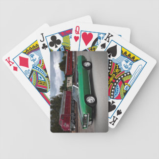 1969 Chevy Camaro Convertible Classic Car Bicycle Playing Cards