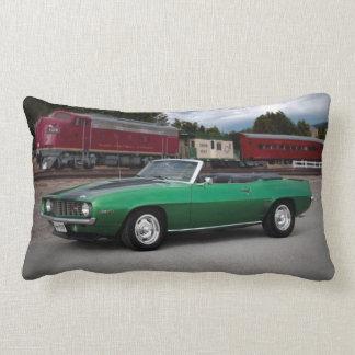 1969 Chevy Camaro Convertible Classic Car Lumbar Cushion
