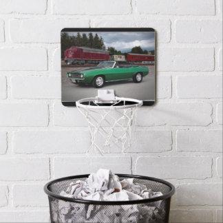1969 Chevy Camaro Convertible Classic Car Mini Basketball Hoop