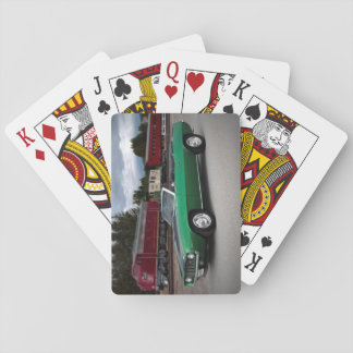 1969 Chevy Camaro Convertible Classic Car Playing Cards