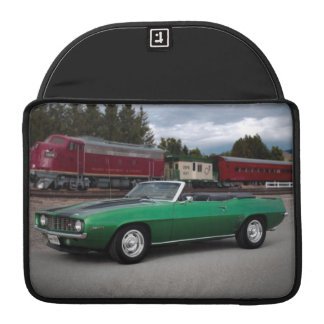 1969 Chevy Camaro Convertible Classic Car Sleeve For MacBook Pro