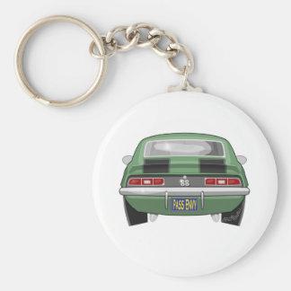 1969 Chevy Camero SS Key Ring