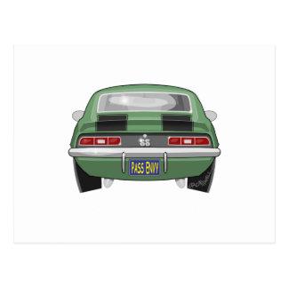 1969 Chevy Camero SS Postcard