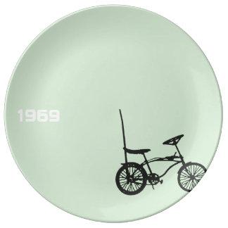 "1969 Chopper Bike 2 10.75"" Porcelain Plate"