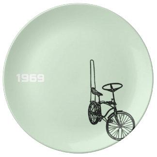 1969 Chopper Bike 4 Porcelain Plate