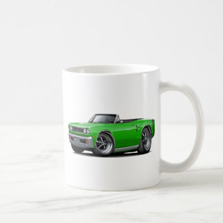 1969 Coronet RT Green-Black Convert Coffee Mug