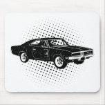 1969 Dodge Charger R/T SE Mouse Pad