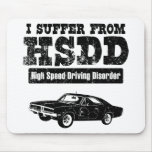 1969 Dodge Charger R/T SE Mouse Pads