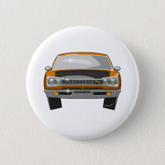 1969 Dodge Superbee 6 Cm Round Badge