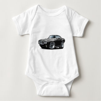 1969 Firebird Black Car Baby Bodysuit