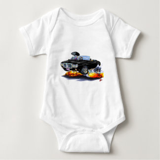 1969 Firebird Black Convertible Baby Bodysuit