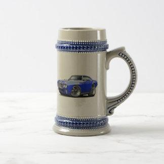 1969 Firebird Blue Car Beer Stein