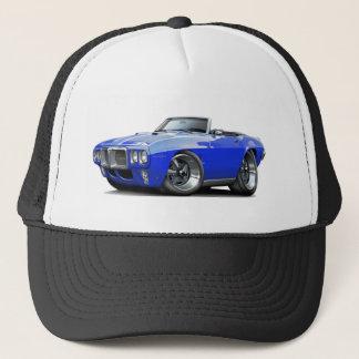 1969 Firebird Blue Convertible Trucker Hat