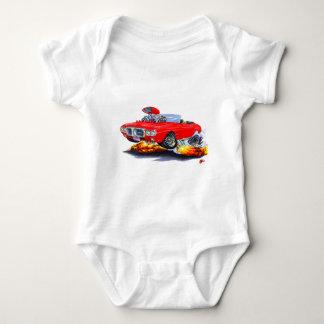 1969 Firebird Red Convertible Baby Bodysuit