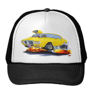 1969 Firebird Yellow Car Cap