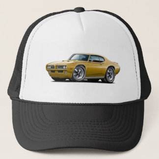 1969 GTO Judge Gold Car Trucker Hat